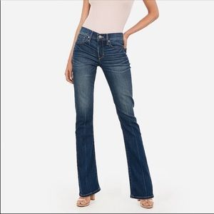Express Boot Stella Low Rise Jeans